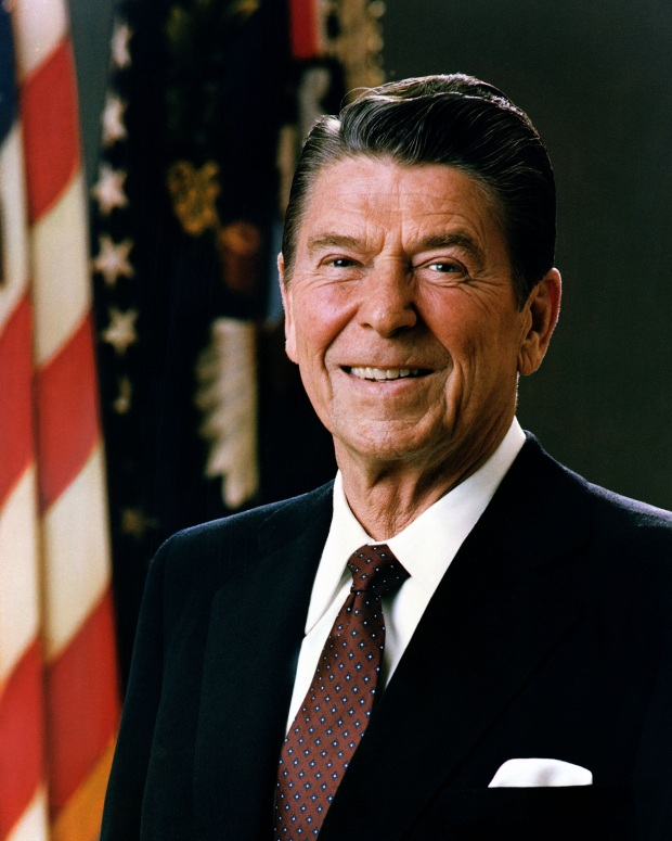 "RONALD W. REAGAN, ""THE GREAT COMMUNICATOR""."