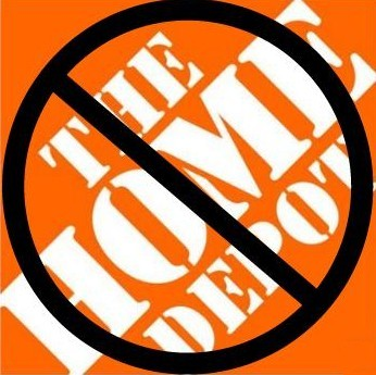 TELL HOME DEPOT WHAT YOU THINK ABOUT THIS.....  I DID..