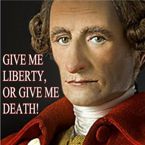 patrick henry give me liberty or give me death essay Forbid it, almighty god i know not what course others may take but as for me, give me liberty or give me death as he patrick henry: champion of liberty.